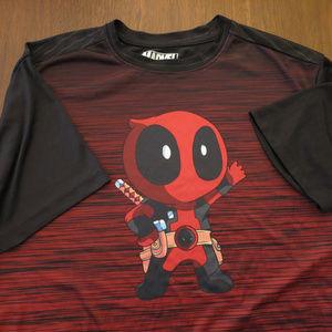 Deadpool M Polyester Men's Shirt Like New Geek
